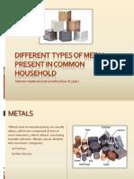 metals present in household-