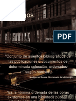 Catálogos_Análisis documental