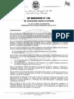 Ley de  publicidad Bolivia