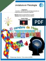 Diana Gisela Carachure Muñoz_Licenciatura en Psicología_4to. Semiescolarizado.IUS_PSICOLOGÍA EDUCATIVA_EL CEREBRO DE HUGO