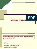 CURS AVORT CLAMIDIAN VACI NET
