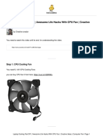 Laptop-Cooling-Pad-DIY-Awesome-Life-Hacks-With-CPU