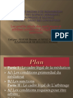 espose de la mediationn