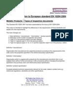 EN 10204-2004
