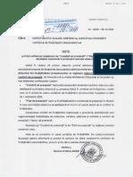 Nota privind utilizarea modelelor de Condica de Prezenta