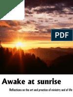 awake at sunrise - preaching articles.pdf