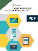 Digital Scotland Report