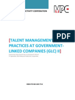Talent Management Practices At GLCs II