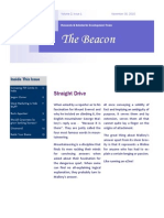 The Beacon Volume 2 Issue 1