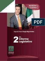 Segundo Informe Legislativo del Diputado Sergio Mayer Bretón