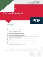 Efectos del arancel E8