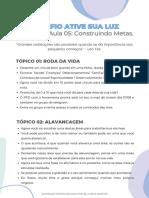 AULA 05_ CONSTRUINDO METAS