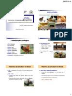 Aula 1 - Situação da avicultura - histórico, evoluções e perspectivas
