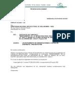 CARTA 151- LIQUIDACION P05 - levantamiento de observaciones P05 ELORRIET...