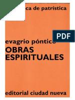 28. EVAGRIO PONTICO - Obras espirituales
