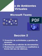 seccion 2 Teams