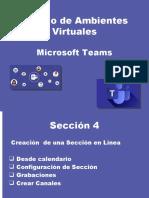 seccion 4 Teams