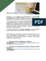 Edital_comunicadores_Ciclo Virtual Internacional de História Política