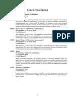 Course Description Electrical Engineering Curriculum (English)