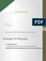 Ch 4.1- Strategic IS Planning