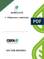 MODULO II-3. OBLIGACIONES AMBIENTALES