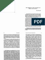 Bourdieu - Genesis of concepts of Habitus & Field