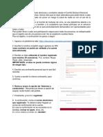 Instrucciones para plataforma electoral