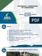 1. Presentación PPT - Residencia y Supervisión de Carreteras