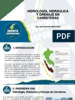 Presentación PPT - Hidrología, Hidráulica y Drenaje en Carreteras
