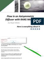 Axisymmetric Diffuser