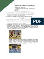TALLER FUNDAMENTOS DEL FUTBOL SALA Y RECREACION