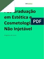 Pós em Estética e Cosmetologia Não Injetável.pdf