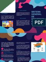 folleto sistema general seguridad social en colombia