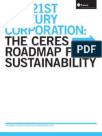 Ceres Roadmap for Sustainability
