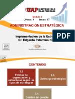 SEM 07 Implementación de la Estrategia