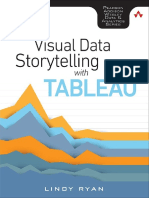 Visual Data Storytelling with Tableau by Lindy Ryan