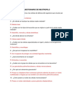 CUESTIONARIO DE NEUTROFILO