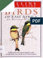 Birds of East Africa - 1980