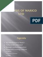 Analysis of Marico Ltd