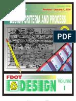 2008 FDOT PPM - Vol 1