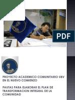 PAC Nuevo Comienzo METODOLOGIA y didactica UBV