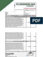 4. COTIZACIÓN PC0105 2020 - GACAR PARARRAYOS