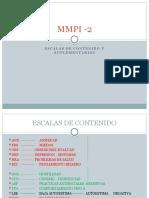 MMPI -2 (contenido y supl.)