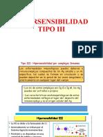hipersensibilidad III Y IV