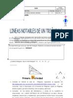 GUIA Nº 1 DE GEOMETRÍA LINEAS NOTABLES DE TRIANGULO[1]