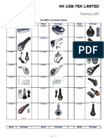 USB-TEK Catalog List for Car MP3