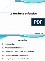Formation HSE chauffeurs _Conduite defensive