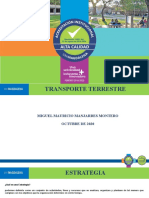 TRANSPORTE TERRESTRE 2020