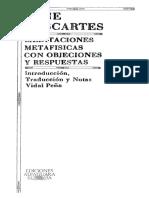 2. Descartes - Meditaciones metafísicas.pdf