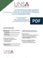 ADMINISTRACION DE PROCESOS ORGANIZACIONALES PERU Resumir